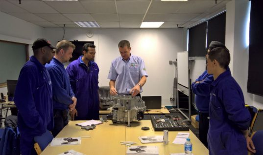 REPXPERT double clutch training course capacity extended