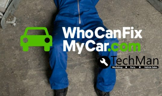 Techman announces WhoCanFixMyCar.com garage awards sponsorship