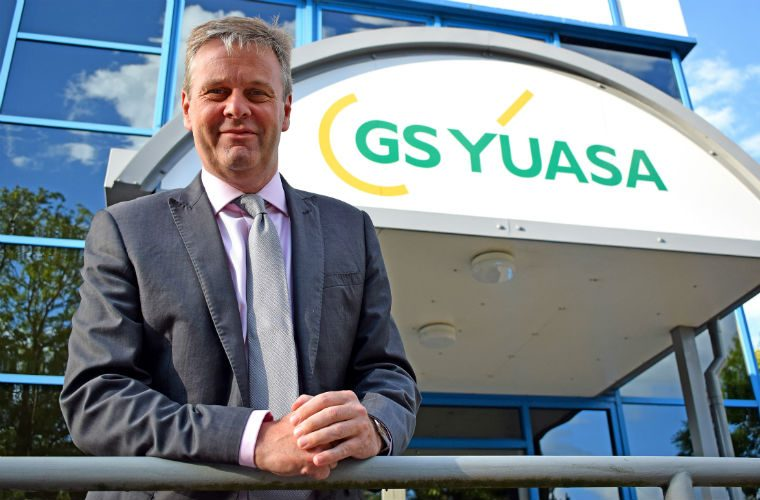 GS Yuasa Battery Europe Ltd welcome new managing director and chief executive officer
