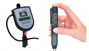 Technicians urged to use brake fluid testers with caution