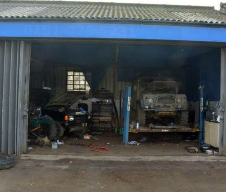"Man jailed following investigation into ""chop shop"" garage"