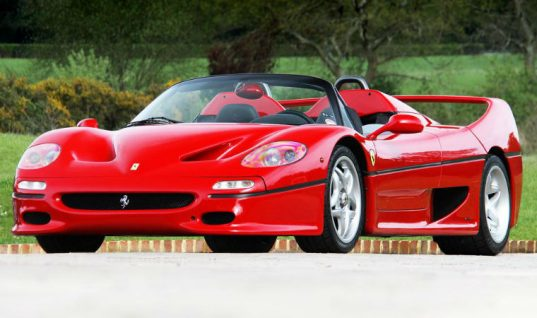 Teen killed in crash after business owner takes him for a drive in customer's Ferrari