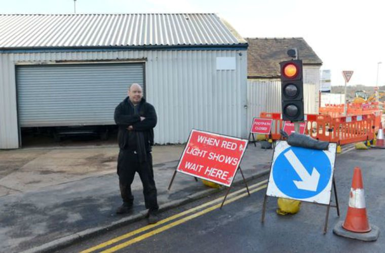 City centre roadworks loses garage owner business