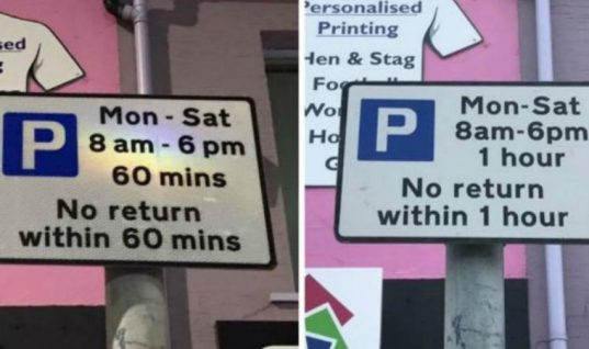 Updated parking signs confuse Bangor drivers