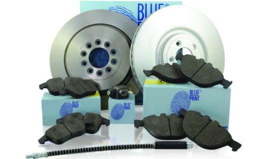 Blue Print highlights braking range more than 10,000 part numbers