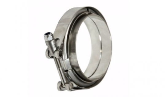 V-band stainless steel clamp / flange kit from ClampCo