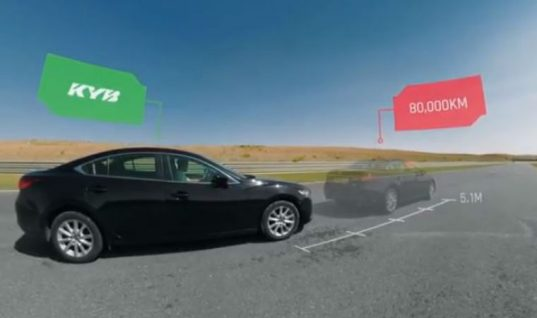 Video: emergency braking test highlights benefits of maintaining shock absorbers