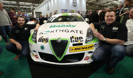 BTCC team HMS Racing unveil brand new Alfa Romeo