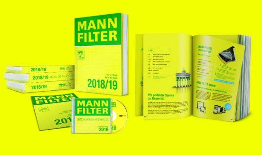 MANN-FILTER announce launch of brand new 2018 catalogue