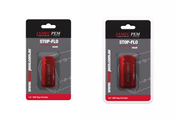 Stop-flo valves savings from REMA TIP TOP