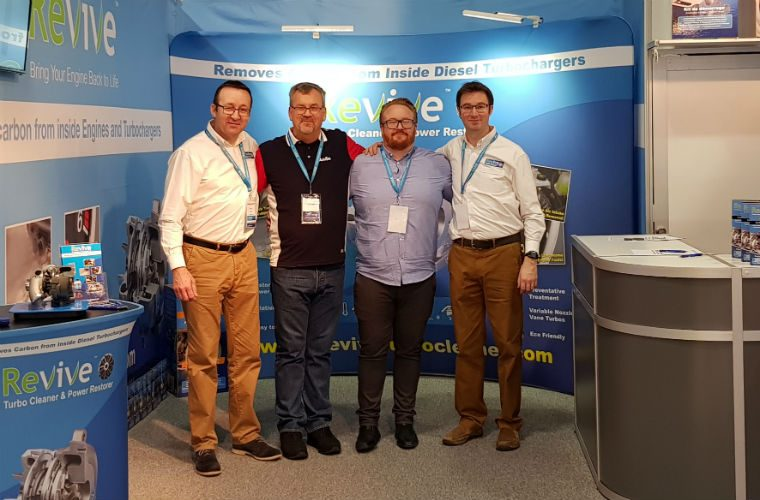 Revive support distributor at Norwegian trade event