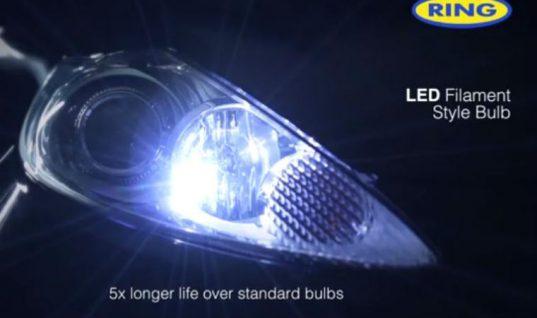 Watch: Ring automotive introduce filament style LEDs
