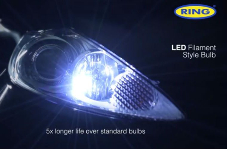 Watch: Ring automotive introduce filament style LEDs