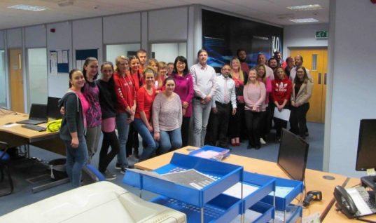 Supplier supports British Heart foundation through fundraising event