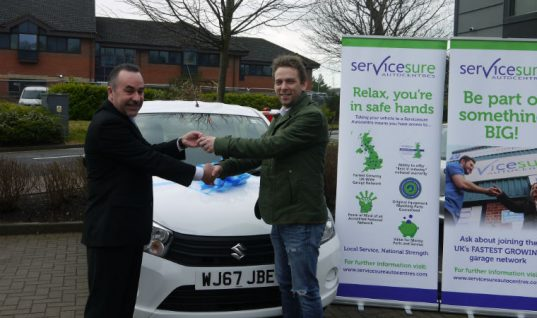 Servicesure garage doubles up with second Outstanding Achievement Award