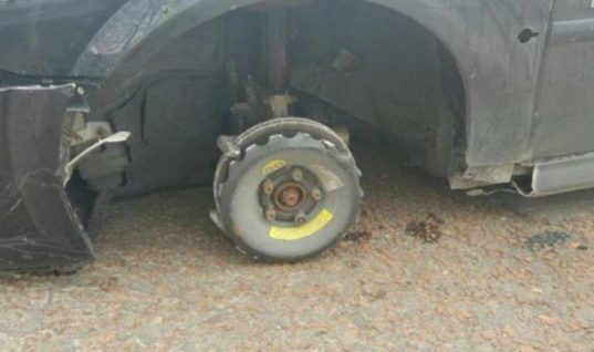 "Driver caught with a missing wheel claimed to be ""unaware what problem was"""