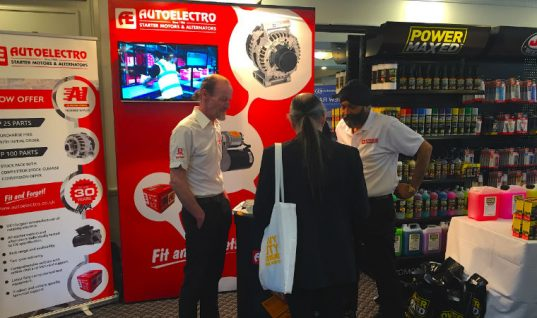 Autoelectro announces exhibit at A1 Motor Stores show