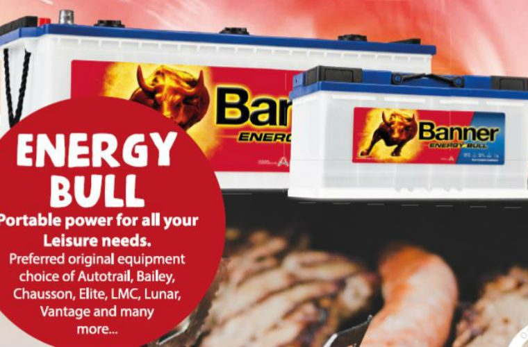 Free Banner Batteries BBQ with Banner Energy Bull leisure battery