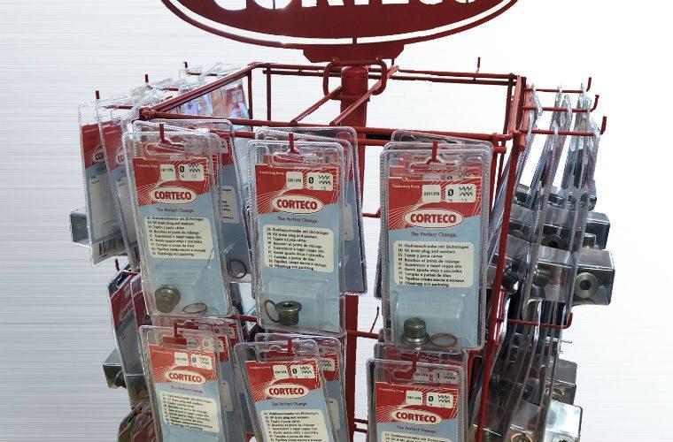 Claim your free Corteco sump plug stand