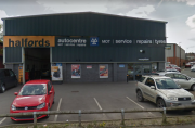 Customer's VW Golf stolen from MOT test bay at Halfords