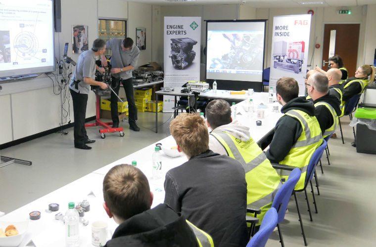Technicians praise latest Schaeffler REPXPERT INA and FAG training event