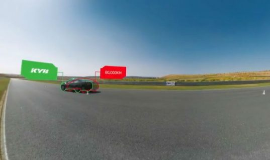 Watch: virtual reality video highlights dangers of worn shock absorbers