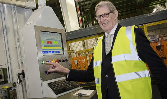 Watch: Sir Bill Cash MP opens £1M investment at Klarius
