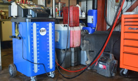 Watch: Reader reviews EDT Automotive's auto transmission machine