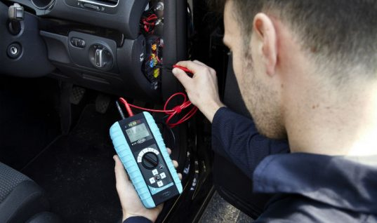 Rapid automotive diagnostics available with new multi-function tester by Ring