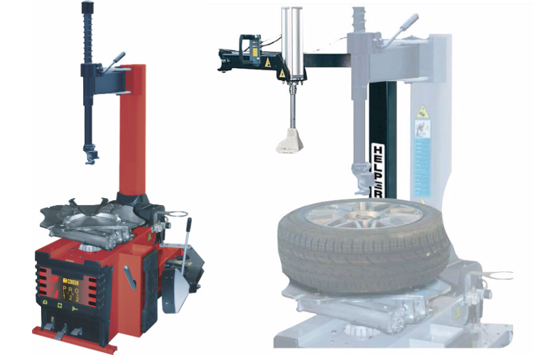 Corghi Proline tyre changer at REMA TIP TOP