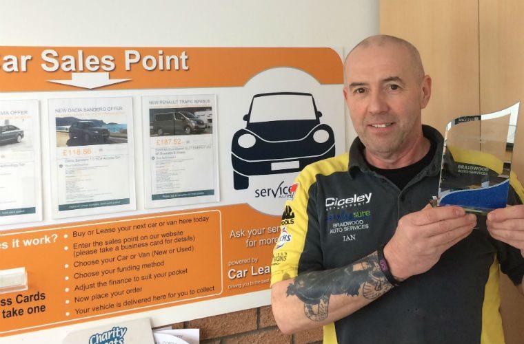 "Servicesure garage named Car Leasing Bargain's ""Best Newcomer"""