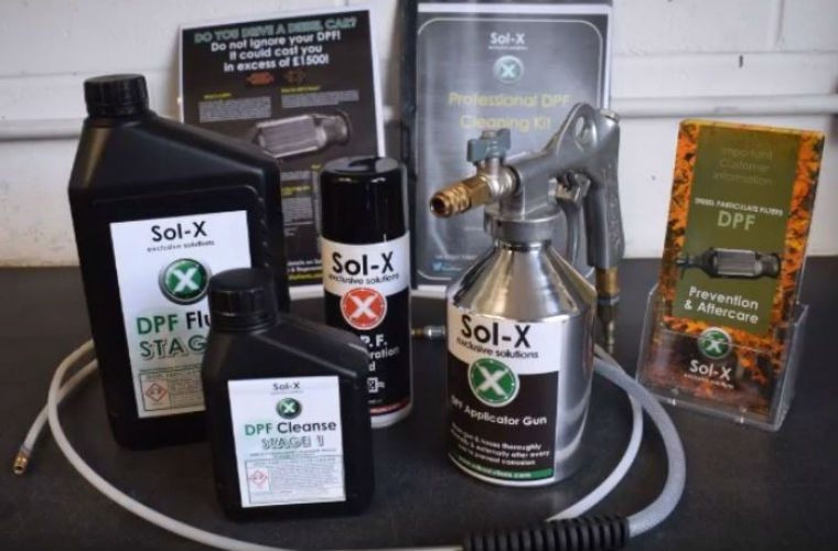 Sol-X release DPF cleaning guide for mechanics