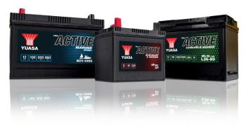 YBX Active battery range launched by Yuasa