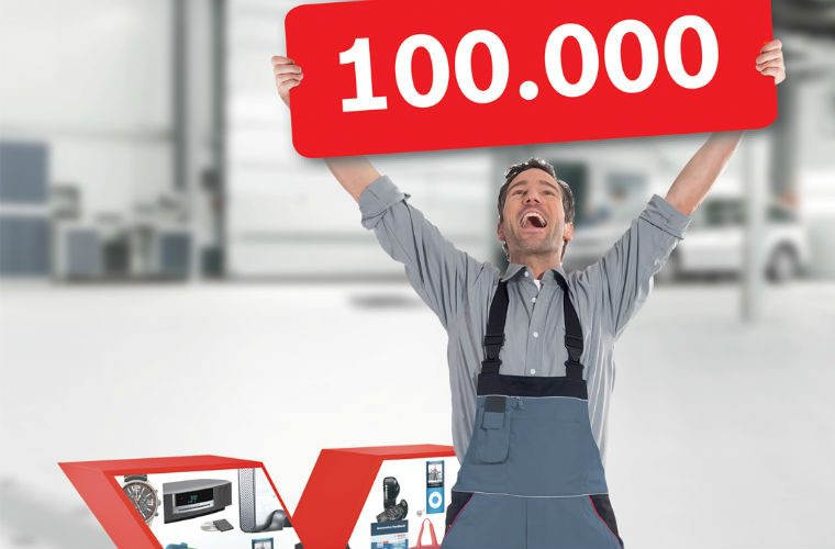 Bosch eXtra rewards program now includes over 100,000 workshops