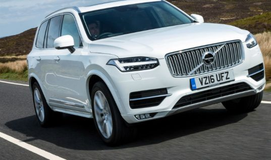 Thatcham Research names Volvo XC90 as safest car it's ever tested