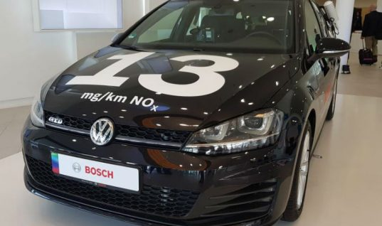 New Bosch technology claims to fix diesel's NOx problem