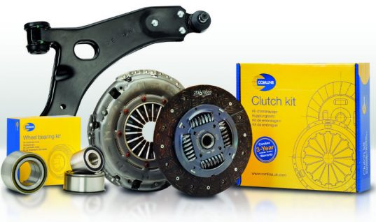 Comline announce new wheel bearing, control arm and clutch kit parts