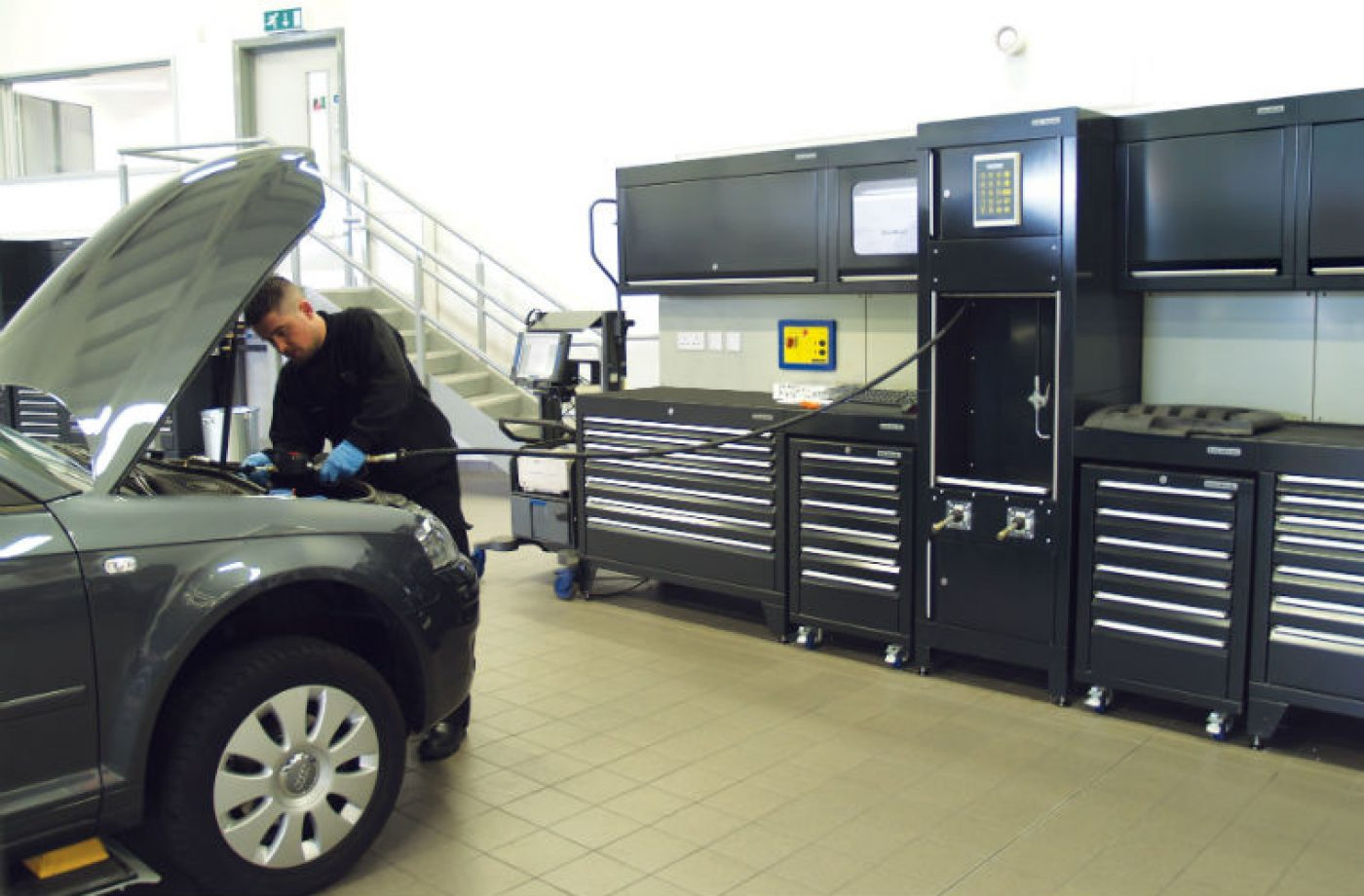 Eight innovative workshop features to inspire productivity in your garage