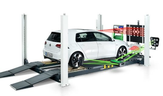 Brand new ADAS calibration set introduced by Bosch