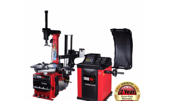 ClampCo tyre changer package with free centreless wheel adaptor