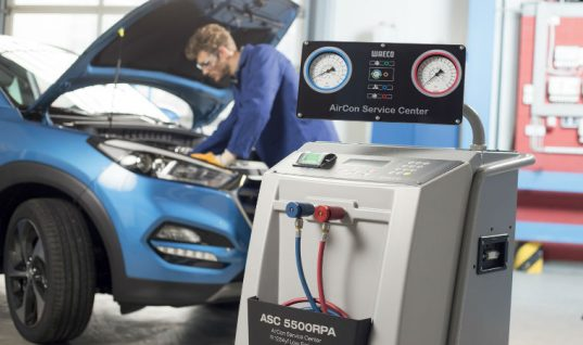 WAECO promotes benefits of its low-emission ASC air con service units