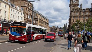 """Edinburgh may ban city centre driving to become more """"pedestrian friendly"""""""