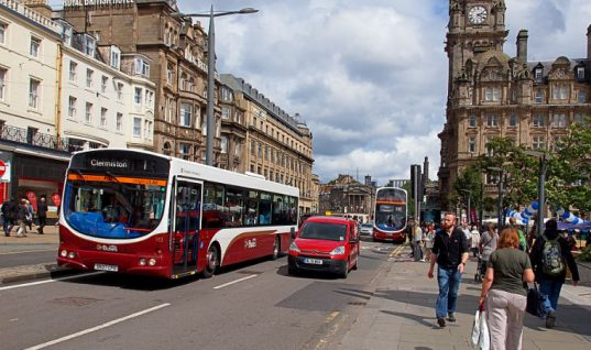 "Edinburgh may ban city centre driving to become more ""pedestrian friendly"""
