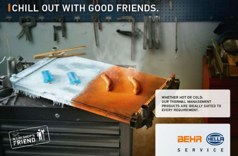 Comprehensive Behr Hella Service package ensures quick and safe air-conditioning check