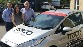TRICO gives away liveried van at A1 trade show