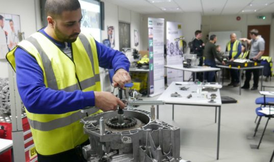 REPXPERT trainees complete LuK 2CT double clutch course