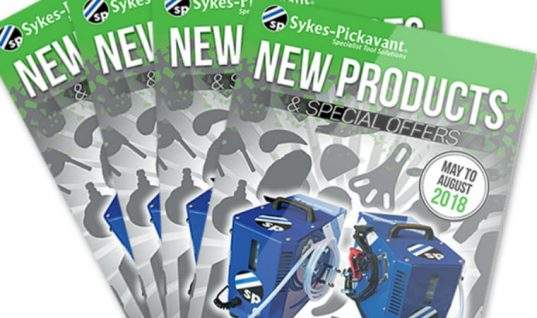 Sykes-Pickavant showcase new tools and equipment in latest promo brochure