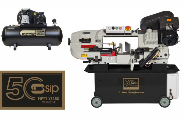 SIP celebrates 50th anniversary with special edition range of products