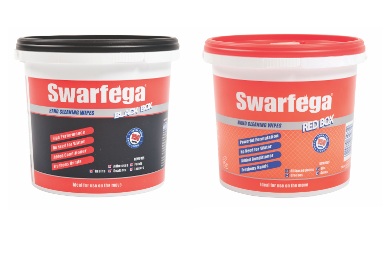 "Swarfega reports on ""overlooked"" Red and Black Box cleaners"