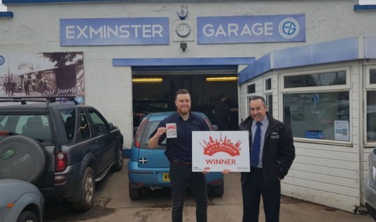 """City Brakes"" campaign win for 100-year-old Exeter garage"